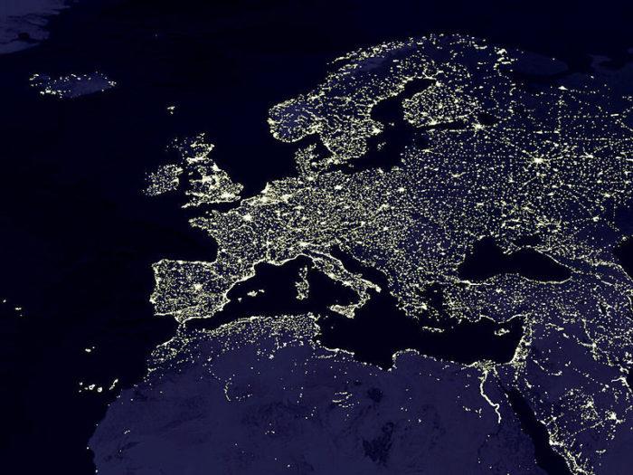 Europa noaptea